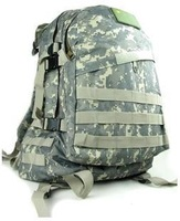 Outdoor shoulder bag backpack mountaineering bags 3D riding black / army green / camouflage free shipping
