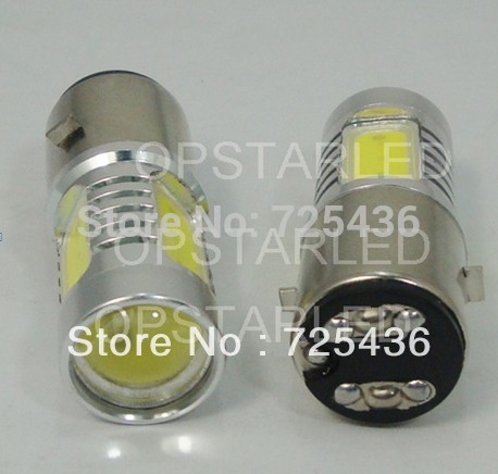 H6 High power 6W 10-30V Lens 6000K White/Blue/Yellow/Red/Green Auto Car LED Light Source Bulb Car Lamp Free Shipping(China (Mainland))