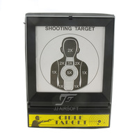 ACI Airsoft Portable Folding BB Target Holder With Expanded Net