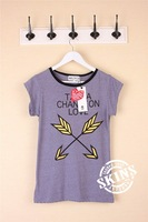 Fashion wildfox arrow cupid short-sleeve T-shirt women tee