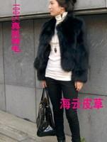 Fashion new style Fur coat fox fur rabbit sweater vest short medium-long vest women's 2013