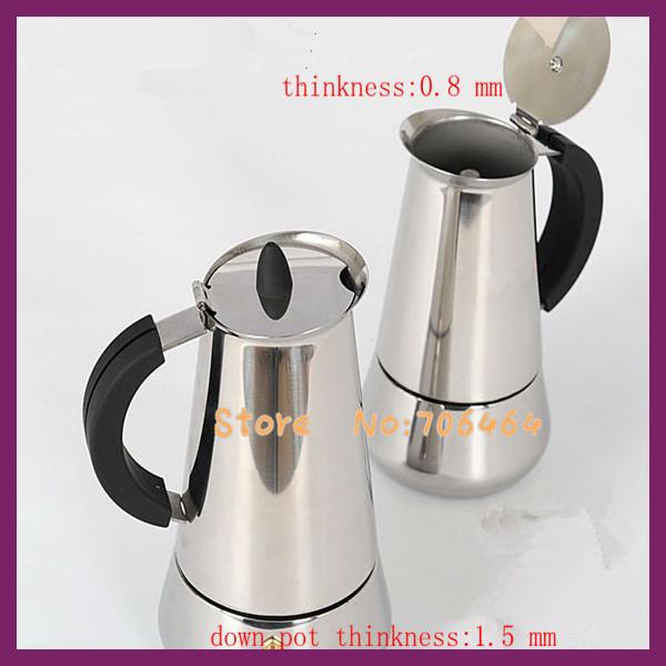 Moka Pot Stainless Steel Pot Stainless Steel Moka
