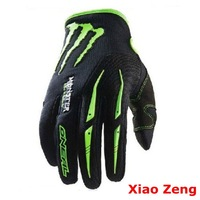 Full Finger Cycling Bicycle Motorcycle Sports Racing Game Gloves M L XL glove green black