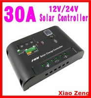 30A Solar Regulator Panel Battery Charge Controller 12V/24V Auto Autoswitch