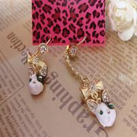 2014 new fashion Over 15 $ Free shipping Fashion earrings 306 long earrings gold earrings drop earrings