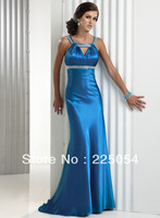 Long Mermaid Spaghetti Strap V-neck Party Prom Gown Formal Evening dress