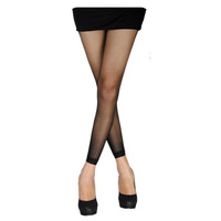 Free shipping 5pcs black leggings Langsha ankle length trousers socks plus crotch leggins nine stockings thin