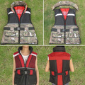 Professional adult life vest clothing fishing services submersible vest folding vest  -14P05(China (Mainland))
