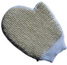 Hot Sale Sisal Cotton Bath Glove Spa Sponge Loofah Loofa Back Brush NEW Wholesale(China (Mainland))