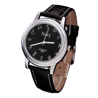 Nary vintage strap watch male women's 12 constellation watches fashion table watch