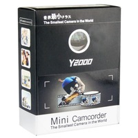 Y2000 Worlds Smallest mini Digital Camcorder with Removable Data Storage Disc (Black)