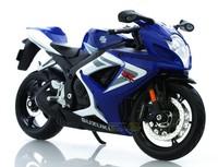 freeshipping ! Maisto 1:12 SUZUKI GSX R750 sport  With suspension   Alloy super motorcycle Model !