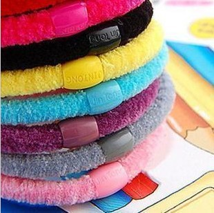 Min. order $9 Quality all-match quality wire beads comfortable headband hair rope TS018(China (Mainland))