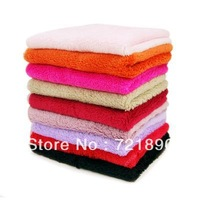Double layer bamboo fibre Not sticky oil towel wash towel kitchen microfiber cleaning cloths,10pcs/lot