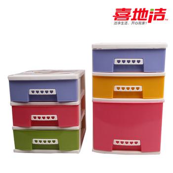 Desktop cabinet finishing drawer storage cabinet plastic storage