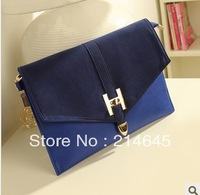 b42/Free shipping The new 2013 vintage fashion female bag envelope bag H lock bag shoulder hand bag shoulder strap bag