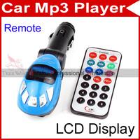 Car MP3 Player Foldable FM Transmitter for USB/SD/MMC/Slot dropshipping #60