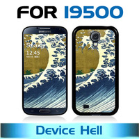 Free shipping for Samsung galaxy s4 i9500 phone case advanced printing technology and Scratchproof  Sea Wave