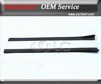 Chargespeed Bottom Line FRP Fiber Glass Side Skirt Extension For 2008-2010 Subaru Impreza GRB STI