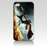 Free shipping for Iphone 5 luxury designer Hard Cover Case Skin chris hemsworth and tom hiddleston thor loki IZC0913 packaging