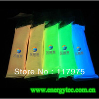 luminous pigment / luminescent pigment/ photoluminescent powder( Yellow-green color)middle brightness