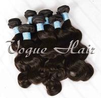 Free shipping Brazilian body wave 4pcs/lot  top quality 100% virgin human hair weft
