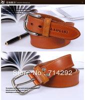 high qulality cowhide man belt