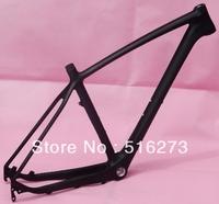 "Full Carbon UD Matt 27.5ER 650B Mountain MTB Bike 27.5"" Wheel  BSA English Thread  Frame , Headset -  (17"",  19"" )"