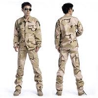 Free shipping \ foliage green camouflage military combat uniform jacket BDU Jacket + Pants Clothing