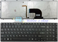 Free Shipping New Laptop Keyboard for Sony SVE15 SVE 15 SVE1511 149029811 9Z.N6CBQ.C01