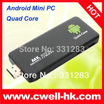 MK809 III RK 3188 Quad Core 2GB RAM 8GB ROM RK3188 Bluetooth Android 4.2 Mini PC