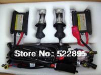Wholesale- Motorcycle Headlight Hid xenon Kit 2 Bi-Xenon H4-3  Hi/Lo beam Xenon Bulbs+2 35W AC slim ballast 6000K 5000k 8000k.