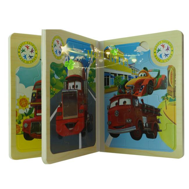 Gratis verzending, 1 stuks meisjes kids childrens houten boek
