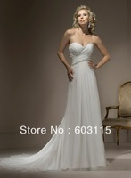 QN130530-0910 Classical Strapless Sweetheart with Beading  Bridal Dresses