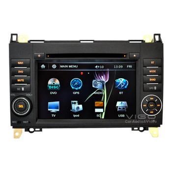 7'' In dash Car Stereo for Mercedes Benz   A/B/C/V Class  Viano/Vito/Sprinter  Headunit Multimedia GPS Navigation Sat Nav System