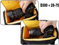 DSLR SLR Camera Case Bag for Nikon D90 D50 D5000 D60 D70 D7000 D70s D30 D300 Free Shipping &Wholesale & Drop Shipping
