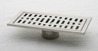 2014 direct selling limited 30cm stainless steel nickel bathroom kitchen shower floor waste grate sanitary drain dl04