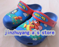 Free shipping  Wholesale sales 2013 Cat and mouse Boy children Sandals/slippers Shoes Size  6C7-12C13