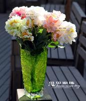 Peony artificial flower silk flower artificial flower vase artificial accessories home flower chinese style