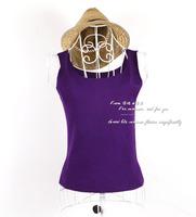 All-match small vest spaghetti strap top chromophous 2012 women's purple basic sleeveless summer