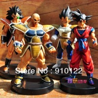 Free shipping wholesale  Japanese Anime Dragonball 27 generations figure set (4 Pieces/set)