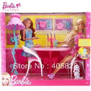 Mattel x 7942 мебель столовой глэм