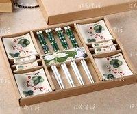 4 1 endulge twinset japanese style cutlery set chopsticks small dish thermos gift box