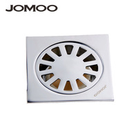 Jomoo copper material general floor drain square anti-odor 8 8cm 9234