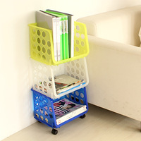 Magazine plastic storage rack sundries storage basket storage 33721