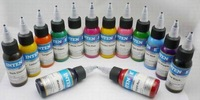 Free Shipping Silver Dance export pure plant color tattoo pigment tattoo ink tattoo pigment 30ML \ bottle color fast