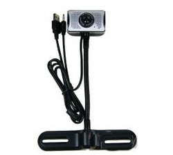 Hyperspeed lcd base hd webcam video head free built-in drive(China (Mainland))