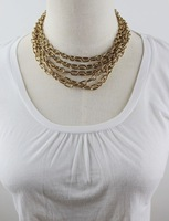 Accessories fashion female multi-layer necklace cg-14
