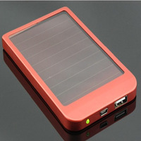 solar energy General mobile phone charger charge treasure mobile power 2600ma mobile power printing logo