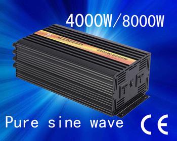 Excellent Quality!! 48v 127v 4000w Pure sine wave invertor(CTP-4000W)